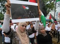 Il Nicaragua si mobilita contro il genocidio a Gaza
