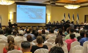 Presentazione a Managua (Foto G. Trucchi | LINyM)