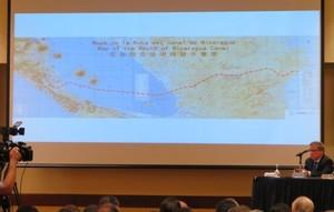 La rotta scelta attraverserà il Lago Cocibolca per 105 km (Foto G. Trucchi | LINyM)