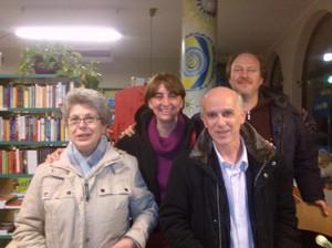 """Con Vittorio Agnoletto e Fabrizio Cracolici - Presentazione del Libro """"L'Eclisse della Democrazia"""" presso la Libreria Pagina18 di Saronno (Varese)"""