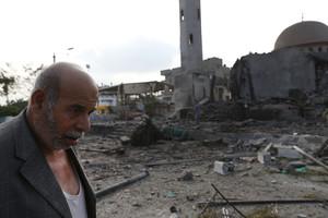 Distruzione a Gaza