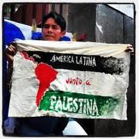 Palestina: la solidarietà dei movimenti sociali e dei governi latinoamericani