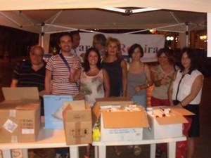 La raccolta di farmaci a Taranto per Gaza