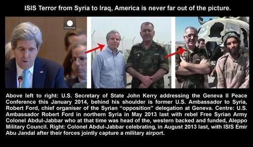 Collegamenti tra ISIS e gli USA