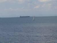 veduta del mar grande di Taranto