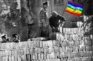 Berlin Wall, 1961 (photomontage)