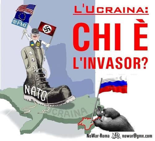 Ukraine rally poster 2014 (NoWar-Roma)