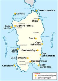 Le coste della Sardegna