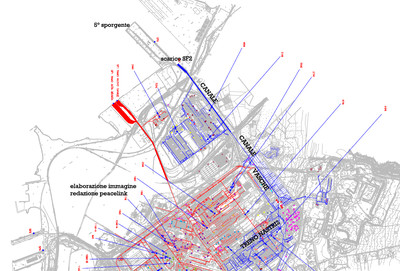 mappa degli scarichi ilva