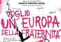 19 ottobre 2014 - Alla Perugia-Assisi per rilanciare la campagna 'Un'altra difesa è possibile'