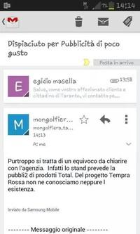 La risposta dell'Ipercoop a Masella