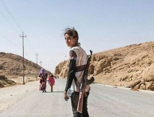 combattente curda