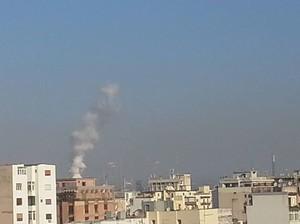 Ore 9 del 21 ottobre 2014 a Taranto. Ipa registano valori elevati per la calma di vento.