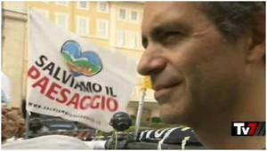 """Immagini dal presidio a Roma del 15 ottobre 2014 """"Blocca lo SbloccaItalia"""""""