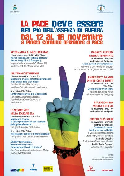 Eventi di Pace a Pineto (Teramo)