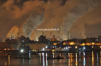 ILVA di notte a Taranto