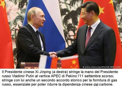 Russia and China sign deal on second gas route