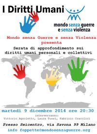 I DIRITTI UMANI - Serata di approfondimento sui Diritti Umani personali e collettivi