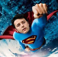 Renzi superman