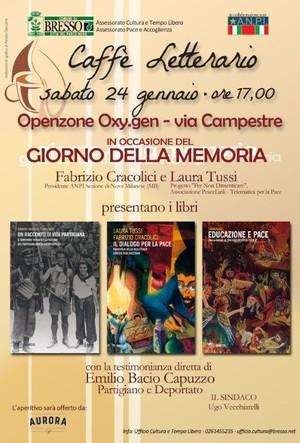Il Giorno della Memoria a Bresso (Milano)