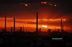 Ilva al tramonto