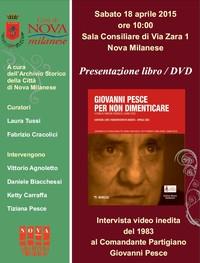 DVD/Libro: Giovanni Pesce. Per non dimenticare, Mimesis 2015