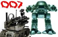 I robot armati di domani: veri 007, con licenza di uccidere