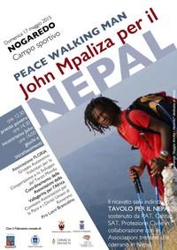 NEPAL - pranzo povero e incontro con John Mpaliza.. camminatore per la pacev