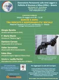 Banche e armi: tra mercato e responsabilità sociale
