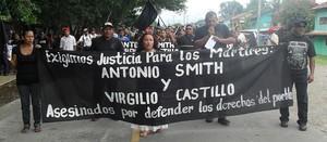 Marcia delle vittime di Changuinola (Foto Bernabel Matos)