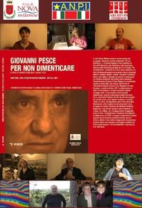 Archivio Storico di Nova Milanese -Giovanni Pesce. Per non dimenticare, Mimesis 2015