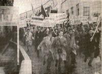 Manifestazione Ponte San Luigi, Ventimiglia 1952