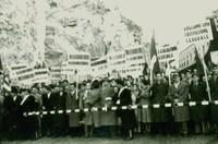 Manifestazione di Ponte San Luigi, Ventimiglia 1952