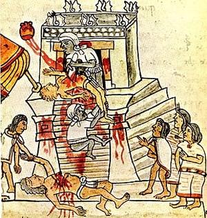 Aztechi, sacrifici umani