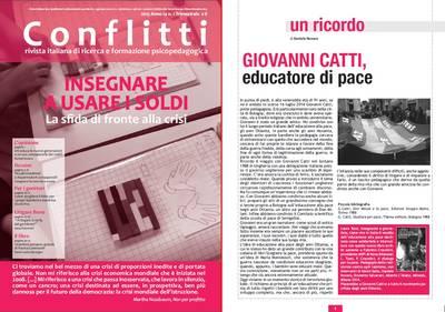"""""""Il Dialogo per la Pace"""" in ricordo di Giovanni Catti, educatore di Pace"""