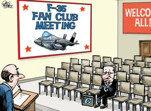 F35 cartoon