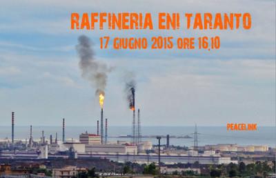 emissioni raffineria eni di taranto