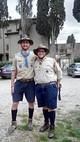 Gli scout della Fédération des Scouts d'Europe alla Casa 2015