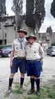 2 Gli scout della Fédération des Scouts d'Europe alla Casa 2015