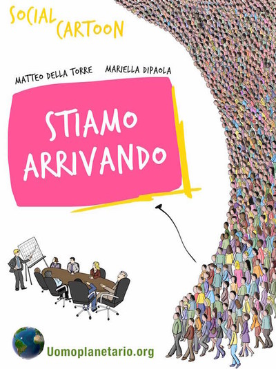 STIAMO ARRIVANDO – Social Cartoon (eBook)