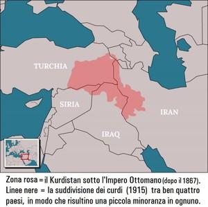 La regione del Kurdistan