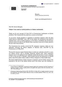 Xylella: nuova lettera della Commissione Europea a Peacelink