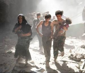 La guerra ad Aleppo in Siria