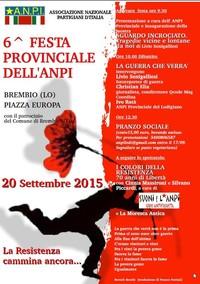 Festa Provinciale ANPI Lodi: La Resistenza cammina ancora...
