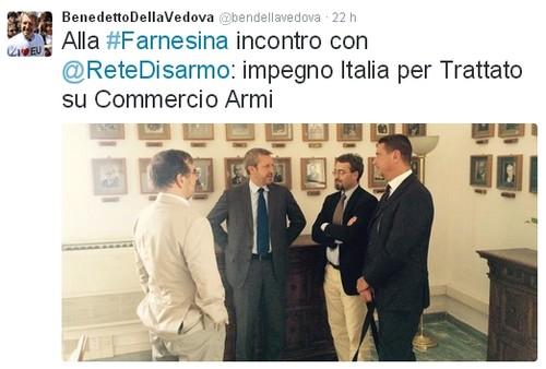 Tweet Della Vedova