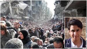 Yemen bombardato dal regime saudita. Insert: Ali al-Nimr.