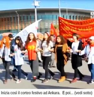La strage ad Ankara: canti e balli per la pace, poi il terribile boato.