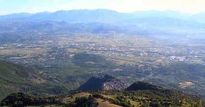 La Valle dove scorre il fiume Sacco tra Roma e Frosinone