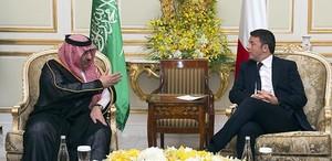 Renzi in Arabia Saudita
