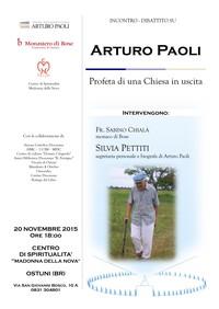 ARTURO PAOLI: profeta di una Chiesa in uscita